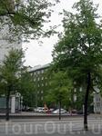 Зеленеющий фасад