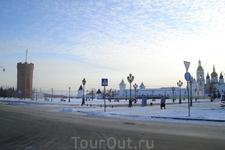 Центральная площадь г.Тобольск