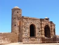 Это крепость в Эс-Сувейре, старинное оборонное сооружение.