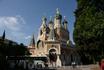Николаевский собор в Ницце. Построен в память об умершем в Ницце наследнике русского престола, сыне Александра П Николае.