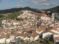 Вид на городок.