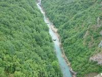 Рафтинг на реке Тара.