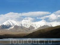Таджикское озеро Каракуль