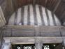 Церковь св.Екатерины. крыша-перевернутый корпус судна.