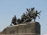 Памятник Чапаеву, расположенный перед Теремком