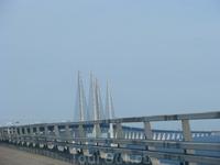 Эрисунский мост. Граница между Швецией и Данией.