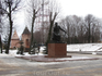 Памятник Федору Коню, который и возвел Стену Смоленского Кремля