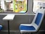 Это трамвай, чистенько, уютно.