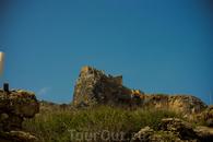 Вид на Акрополь с бухты Св. Павла