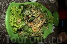 Салат из кобры