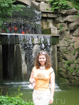 еще один водопад с гротом