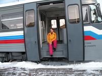 Порт-Байкал. Начало путешествия по КБЖД.