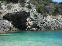 Вид с пляжа Klimatia