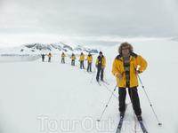 По Антарктике на лыжах. Активный отдых для тех, кто не любит скучать.