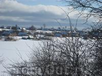 Река Волхов во льдах