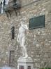 Это Давид! Но только копия, оригинал Микелянджело выставлен в академии, за отдельную плату. А это площадь синьория, публичный центр Флоренции. И музей ...