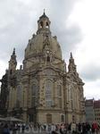 Фрауэнкирхен. Она была полностью уничтожена во время Второй Мировой войны, а затем снова восстановлена.