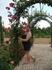 В цветнике  в Саду Альгамбры
