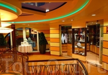 На корабле есть магазин Дьюти фри