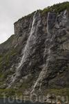 Водопад Семь сестер - Гейрангер Фьорд
