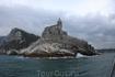 Кркпость защищающая город Портофино