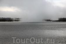 Какой-то странный туман или это не туман вовсе...