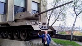 НАШ ТАНК Т-34..ЗДРАВСТВУЙ,ДОРОГОЙ!