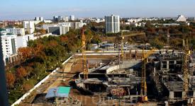 Строящийся Ташкент
