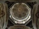 Купол и своды нового собора.