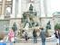 Фонтан-аллегория во дворцовом комплексе Будапешта