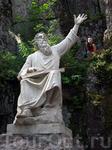 Статуя Вяйнемёйнена — главного героя карело-финского эпоса Калевала.