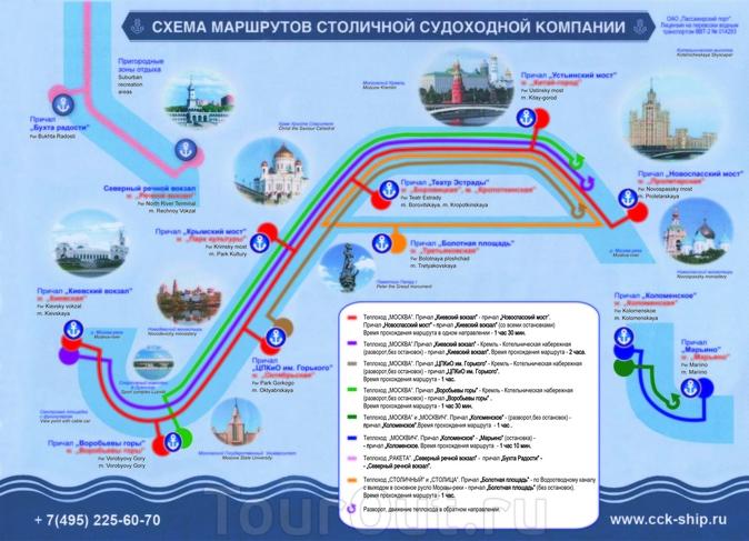 речного транспорта Москвы