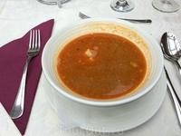 Знаменитый венгерский рыбный суп халасле.