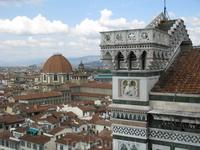 Вид с колокольни Джотто,г.Флоренция