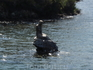 Пямятник Русалочке, очевидно такие водятся в местных водах :)