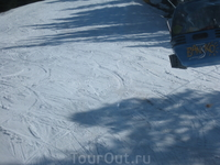 Лыжный спуск