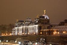 Ночной Дрезден