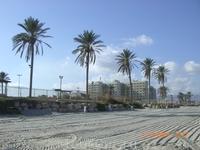 Пляж Хайфы.Средиземное море...