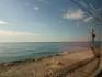 Вдоль берега на пригородной электричке