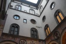 В палаццо Веккьо.