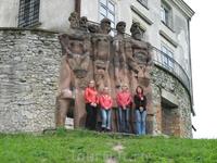 охранники Олеського замка