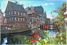 Улочки Страсбурга.
