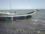 Рыбацкая лодка.