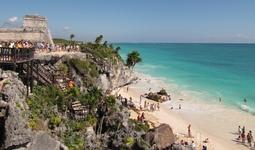 Тулум. тоже древний порт майя