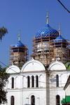 Богоявленский собор - доминанта Богоявленского девичьего монастыря. 1853 год.