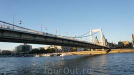 Мост между Будой и Пештом...