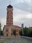 А вот и старинное здание -Царицынская пожарная каланча.Архитектурный памятник 19 века