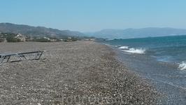 Чудесный пляж Ливийского моря