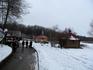 В городе Логойск. Вид на источник и купальни