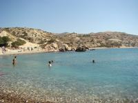 Общий вид пляжа Афродиты.